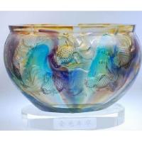 琉璃摆件-金色年华(小)C-015