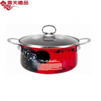 珐琅厨具 经典汤锅