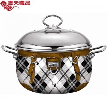 珐琅厨具 时尚汤锅(22cm)