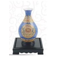 漆线雕-玉壶春宝石蓝-北京商务礼品网