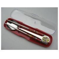 户外餐具 滴胶脸谱勺筷两件套 MR-11101