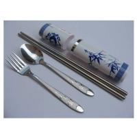 户外餐具 青花瓷系列大三件套 MR-0608