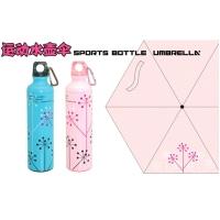 彩色图案雨伞 运动水壶+伞 S2017