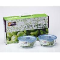 艾格莱雅 美味保鲜盒2件套 GH06/L2A