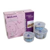 艾格莱雅 美味保鲜盒3件套 BX04(A)/L3