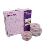 艾格莱雅 美味保鲜盒3件套 BX03(A)/L3
