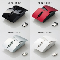 宜丽客ELECOM nendo重叠镭射无线鼠标M-NE3DL系列