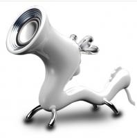 幻响(i-mu)豌豆龙-单龙 喇叭音响 USB供电 笔记本平板电脑 外接音响