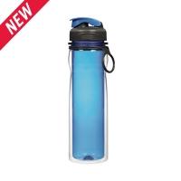 乐柏美(Rubbermaid)Tritan双层系列水瓶500ML蓝色