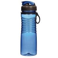 乐柏美(Rubbermaid)Tritan螺旋防滑水瓶揭盖式600ML蓝色