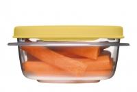 乐柏美(Rubbermaid)层层叠系列保鲜盒296ML黄色