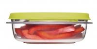 乐柏美(Rubbermaid)层层叠系列保鲜盒710ML绿色