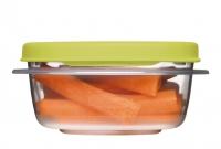 乐柏美(Rubbermaid)层层叠系列保鲜盒296ML绿色