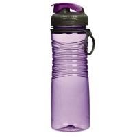 乐柏美(Rubbermaid)Tritan螺旋防滑水瓶揭盖式600ML紫色