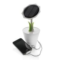 Sunflower 太阳能花朵充电器