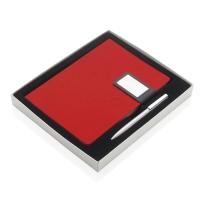 Prestige 磁性扣笔记本套装(中国红)