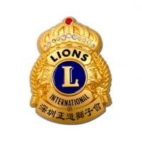 高档金属徽章胸牌校徽定制