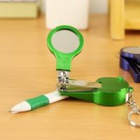多功能指甲剪镜子笔 美甲工具圆珠笔