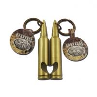 高档子弹型状开瓶器钥匙扣开瓶器钥匙扣定做