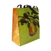 PP编织覆膜手提袋无纺布拉链淋膜环保购物袋子定制