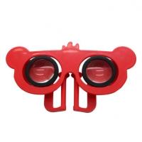 创意迷你小熊VR眼镜 便携3D虚拟现实眼镜定制
