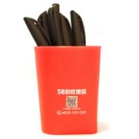 广告塑料笔筒异形笔筒定制