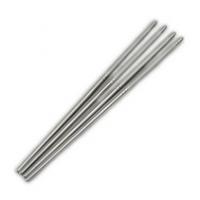 高档优质不锈钢餐具不锈钢喷砂筷子防滑道餐具