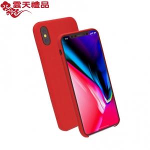 苹果X手机壳简约皮纹iPhone