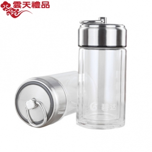 新款玻璃杯日用百货200ML水杯可爱易拉罐杯定制