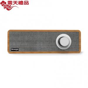 Smalody新款私模便携式木质复古蓝牙音箱家用迷你无线音响定制