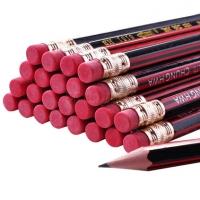 中华6151铅笔HB中华牌铅笔橡皮头铅笔12支装定制