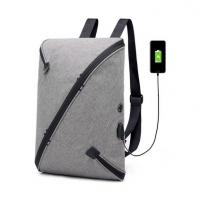多功能男士双肩包USB充电智能防盗背包大容量旅行电脑包