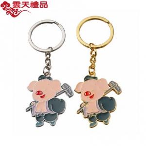 卡通猪八戒钥匙扣汽车挂件小礼品