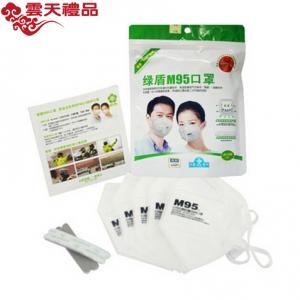 绿盾M95防尘防霾防风口罩