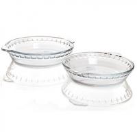 耐热玻璃盘 冷热菜盘