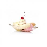 玻璃香蕉船冰激凌杯雪糕杯