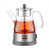 东菱(Donlim)玻璃加厚蒸汽喷淋式黑茶电热水壶