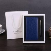 笔记本礼盒装记事本套装礼品文具商务创意PU皮面本子