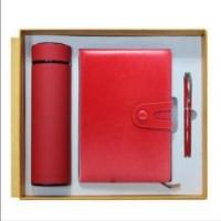 保温杯笔记本签字笔创意商务礼品三件套装
