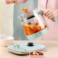 SKG 养生壶多功能加厚硼硅玻璃煮茶壶全自动煎药壶