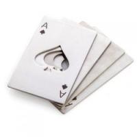 黑桃A开瓶器 创意扑克牌形不锈钢开瓶器