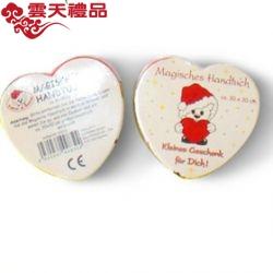 心形纯棉毛巾 圣诞情人节礼品