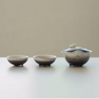 小皿快客杯一壶二杯陶瓷日式创意两杯旅行便携茶具小套装