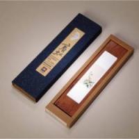 特色中国风红木镇纸文房四宝必备文创纪念品镶嵌水晶镇纸