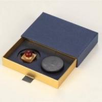 特色中国风外交会议送礼铜木传奇方圆有容文房3件套