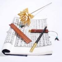 特色中国风企业会议外交礼品紫檀名片夹书签u盘办公室3件套