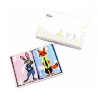Disney/迪士尼 动物城毛巾礼盒2件套