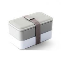 时尚简约双层日式便当盒分格饭盒餐盒