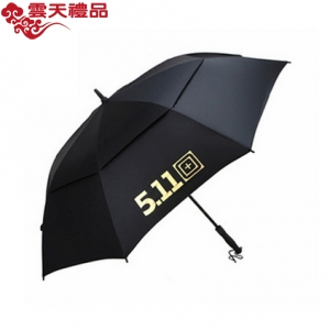 511雨伞大号双人商务双层高尔夫伞纤维礼品长柄广告伞