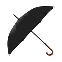 OLYCAT双人伞木柄弯把长款自动伞 男式商务晴雨伞